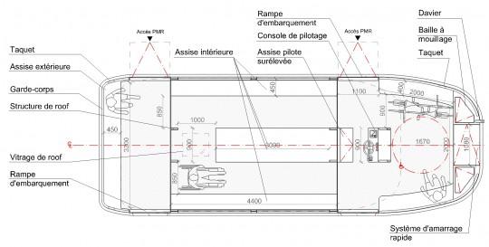 Plan Mono 10 m 35 pax