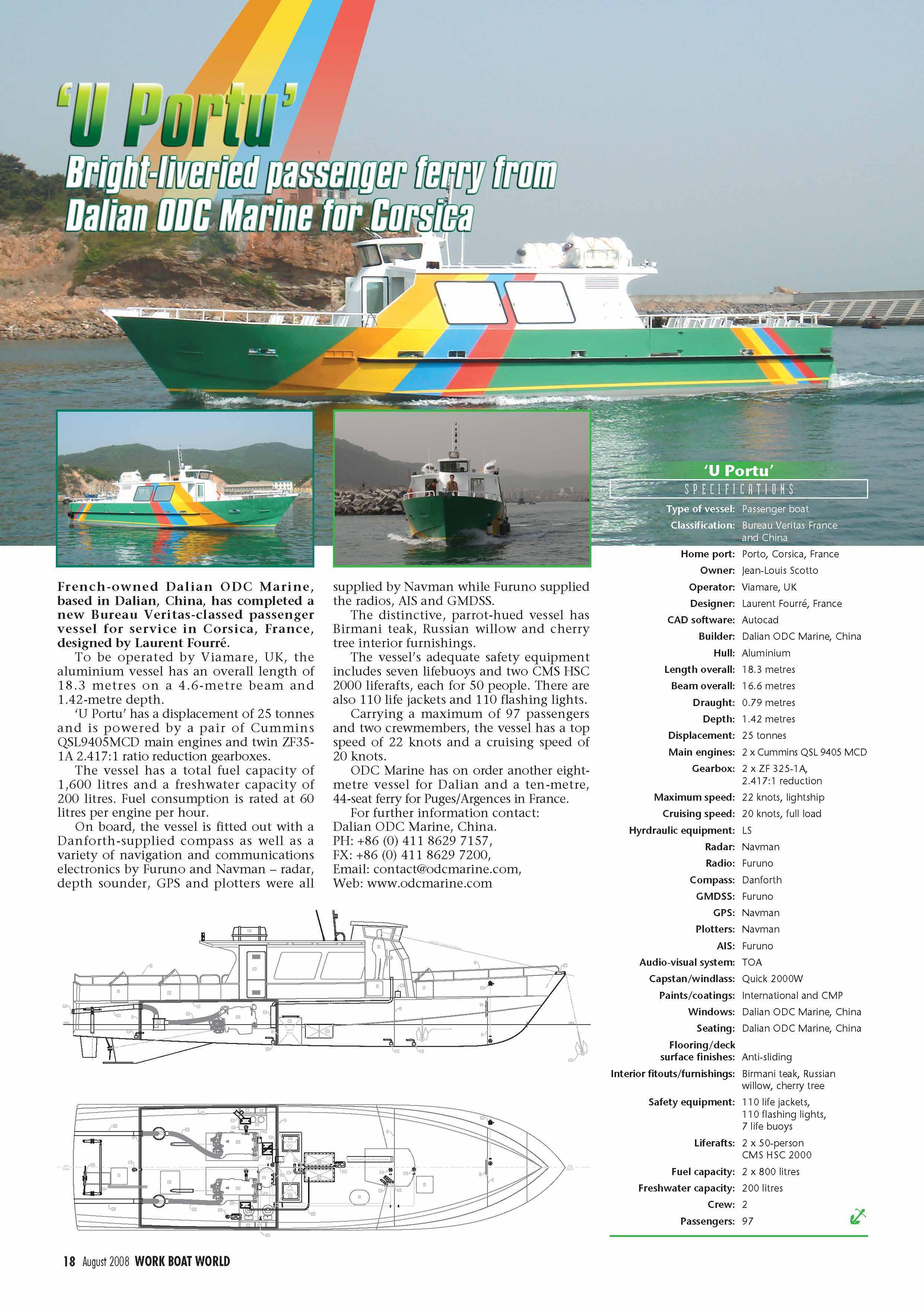 Baird Work Boat World (Mono 18 m 100 Pax Diesel)