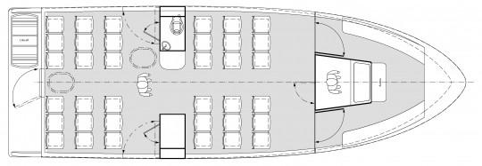 Plan 12 m 50 pax