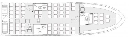 Plan 16 m 85 pax