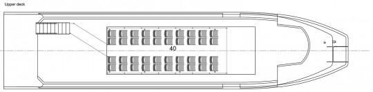 Plan landing craft 24m 150pax