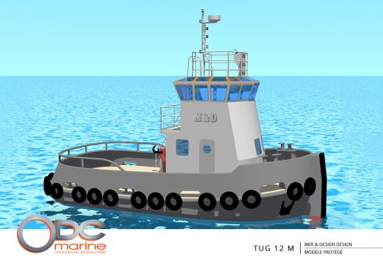 TUG 12 m
