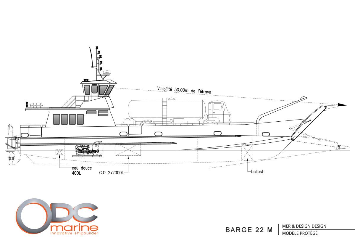 Barge 22 m
