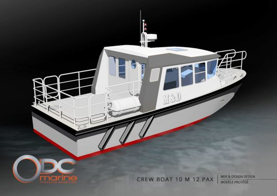 crewboat 10m 12 pax