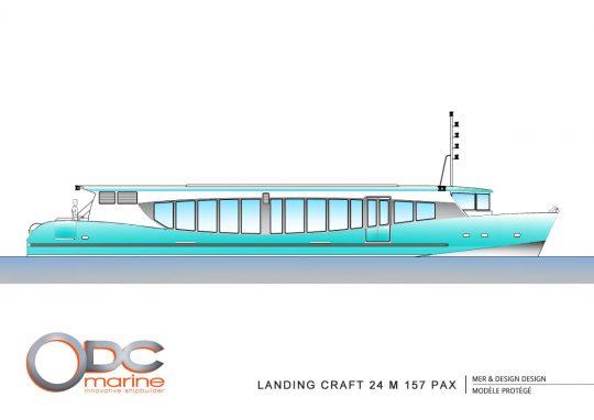 landingcraft 24m 150pax